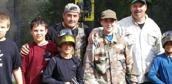 Asherman's Paintball Birthday