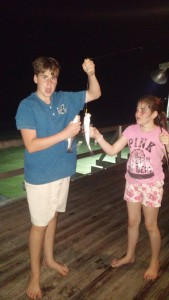 Fun catching Speckled Trout